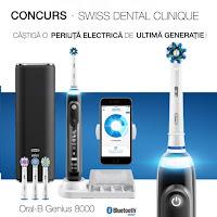 Castiga o periuta electrica de ultima generatie marca Oral-B