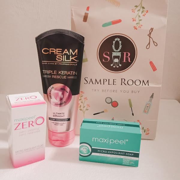 Sample Room Haul: Maxi Peel & Cream Silk