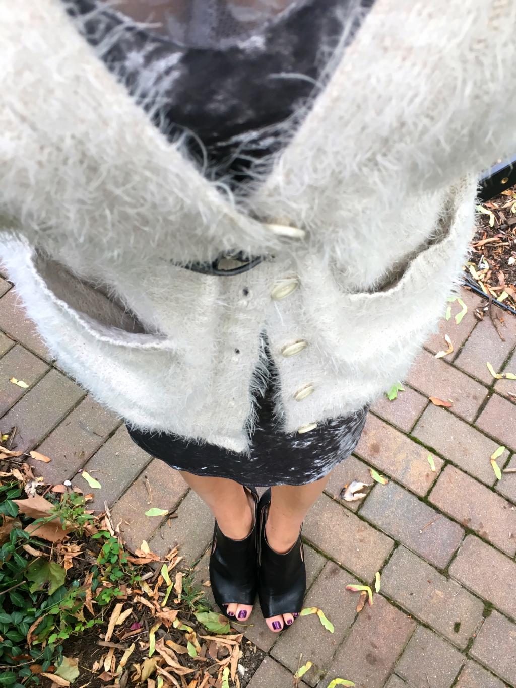 How to Style a Velvet Slip Dress
