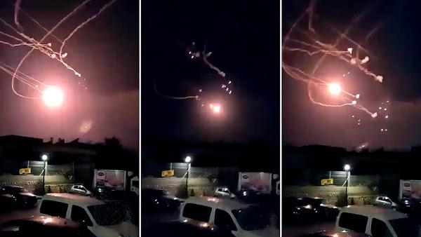 FOTOS: hamas ha lanzado 40 cohetes hacia Israel desde gaza.