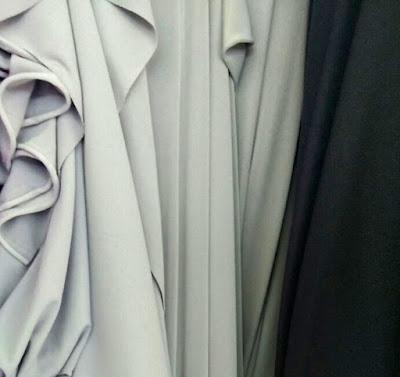 jenis kain untuk gamis