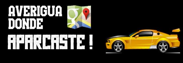 Averiguar localización vehículo aparcado