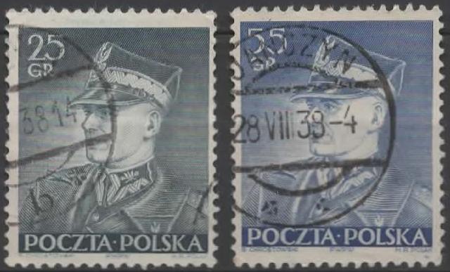 Poland 1937 Marshal Edward Rydz-Smigly, 1886-1941