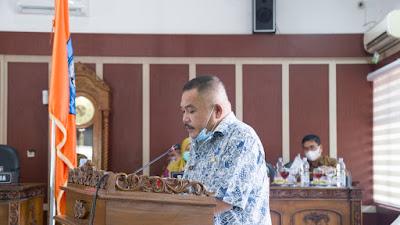 DPRD Kabupaten Labuhanbatu Bentuk Pansus Perubahan Ranperda Peningkatan Layanan Umum  Masyarakat Kelas III di RSUD Serta Pembangunan Kepariwistaan