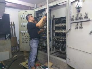 Repair panel ats amf
