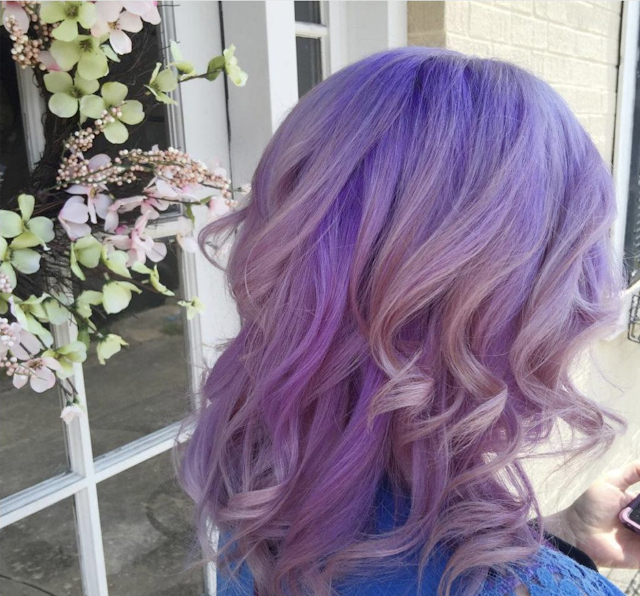 purple hair color 2020