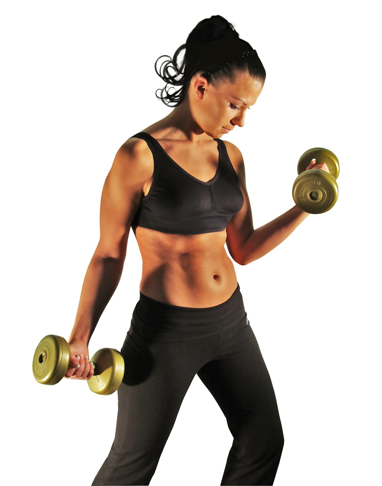 Exercise To Reduce Nose Fat: Bodybuilding Training Girl ...