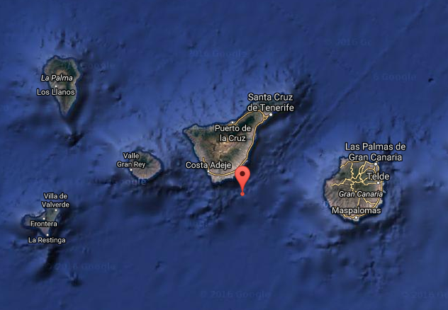Terremoto sur Tenerife, 10 agosto, baja intensidad