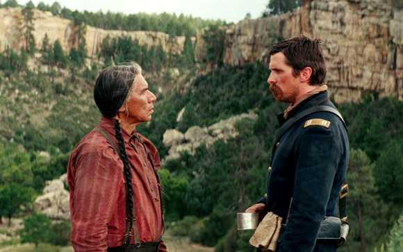 Wes Studi-Christian Bale- Hostiles