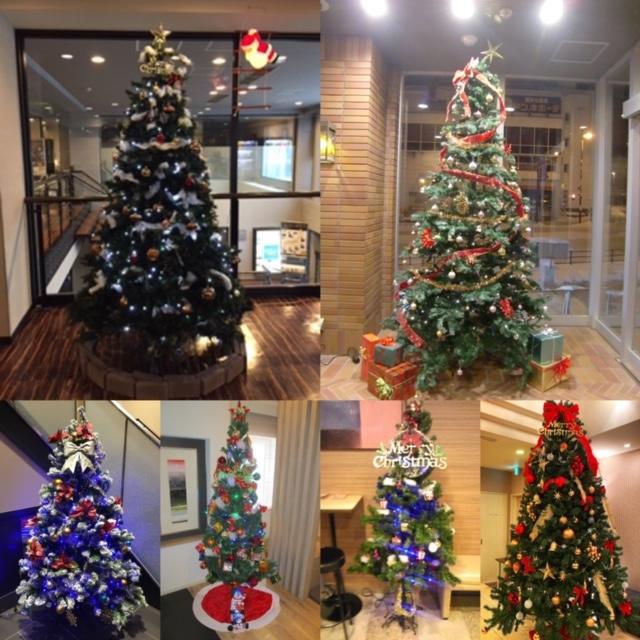 クリスマスツリーが全国86棟のドーミーインでいっせいに点燈!!