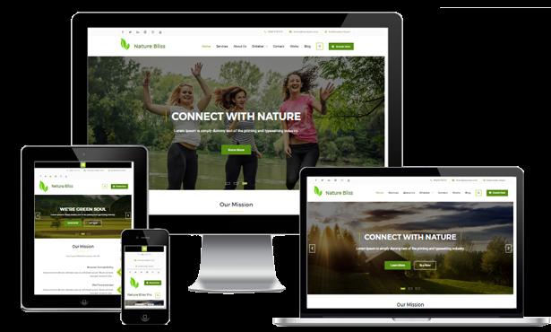 Jasa Pembuatan Website Contoh Website Bisnis Company Profile   2