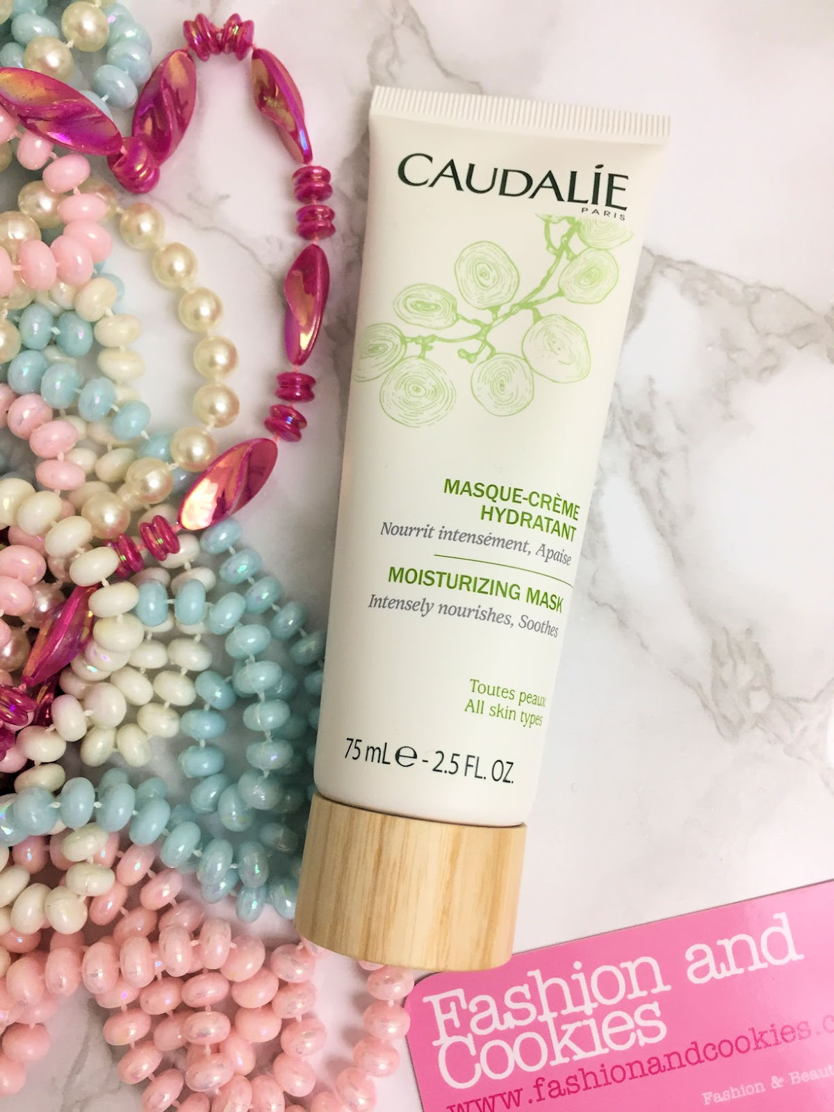 Masque-creme hydratante Caudalie su Fashion and Cookies beauty blog, beauty blogger