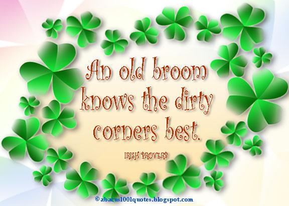 Old Irish Proverb 108