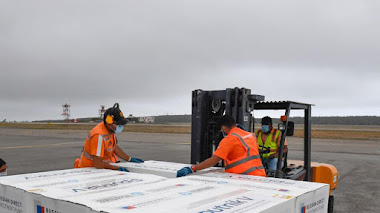 EL sexto cargamento de la vacuna rusa Spunik V contra Covid-19 arribaron al Aeropuerto Internacional de Maiquetía