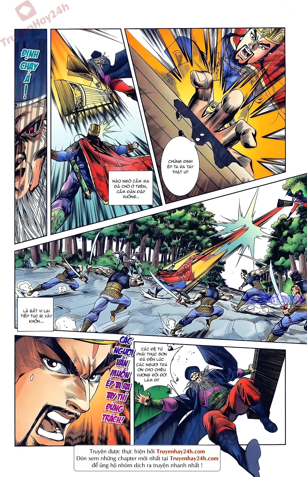 Tần Vương Doanh Chính chapter 45 trang 22