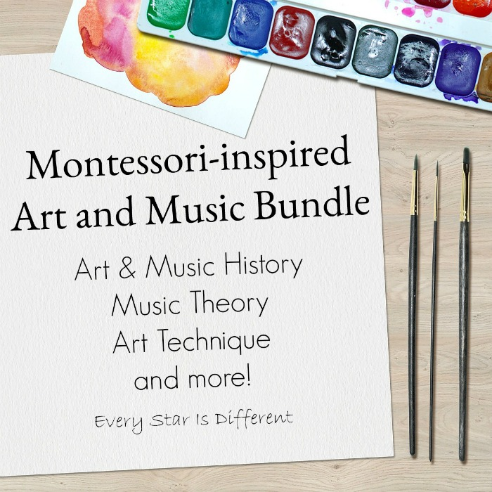 Montessori-inspired Art and Music Bundle