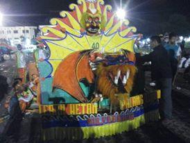 Inilah Semarak Festival Lomba Tongklek 2016 Di Alon-alon Tuban