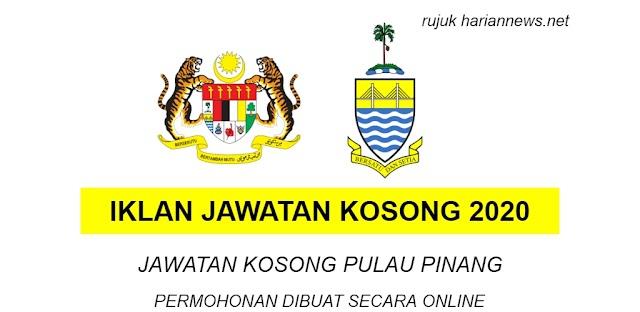 JAWATAN KOSONG PULAU PINANG ~ Tarikh tutup 13 March