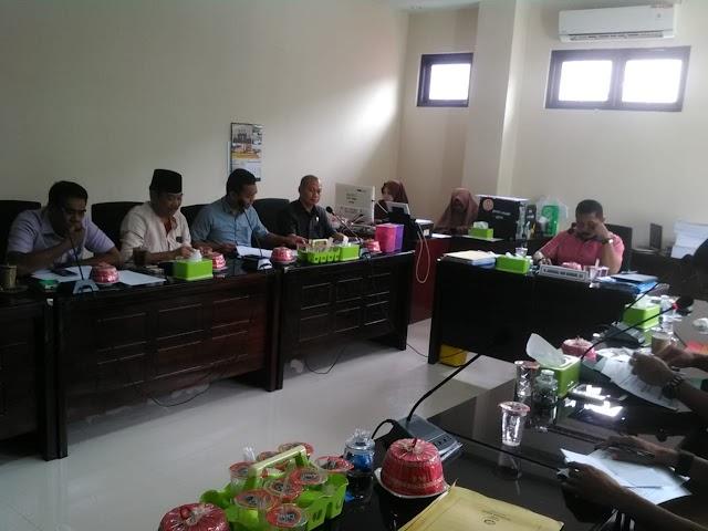 Hasil Rapat Kerja Komisi I  DPRD Kabupaten Wajo, Bersama Mitra Kerja