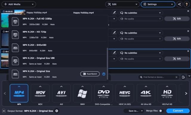 تحميل برنامج تحويل الصيغ السريع Movavi Video Converter للكمبيوتر