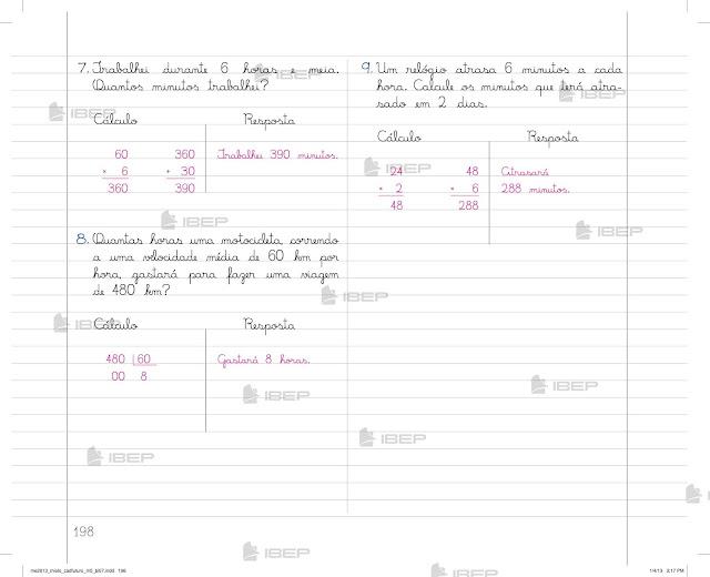 Exercícios de Matemática 5 Ano