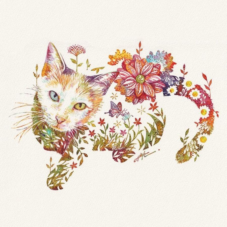 11-Cat-with-heterochromia-Hiroki-Takeda-タケダヒロキ-www-designstack-co