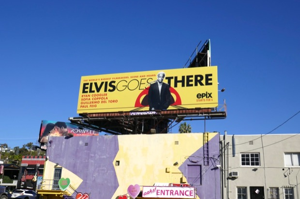 Elvis Goes There season 1 billboard