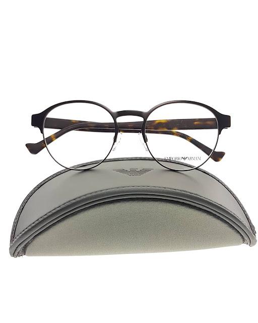 Armani eyeglasses black 黑眼鏡框