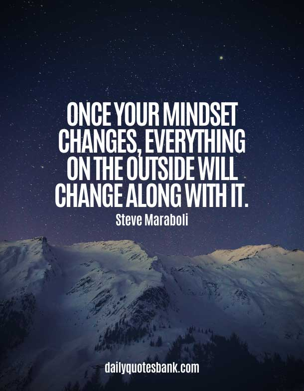Positive Quotes About Change Yourself