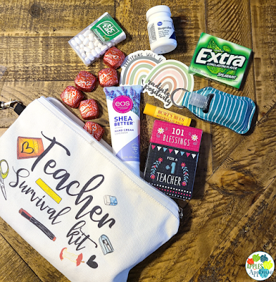 Teacher Survival Kit | Apples to Applique