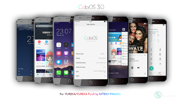 ColorOS 3.0 For YU YUREKA