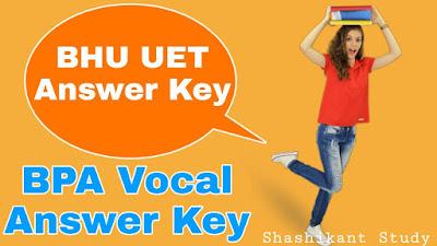 bhu-bpa-vocal-answer-key
