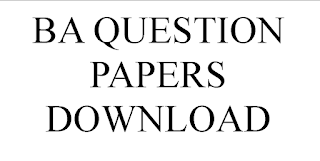 BA QUESTION PAPERS FREE DOWNLOAD