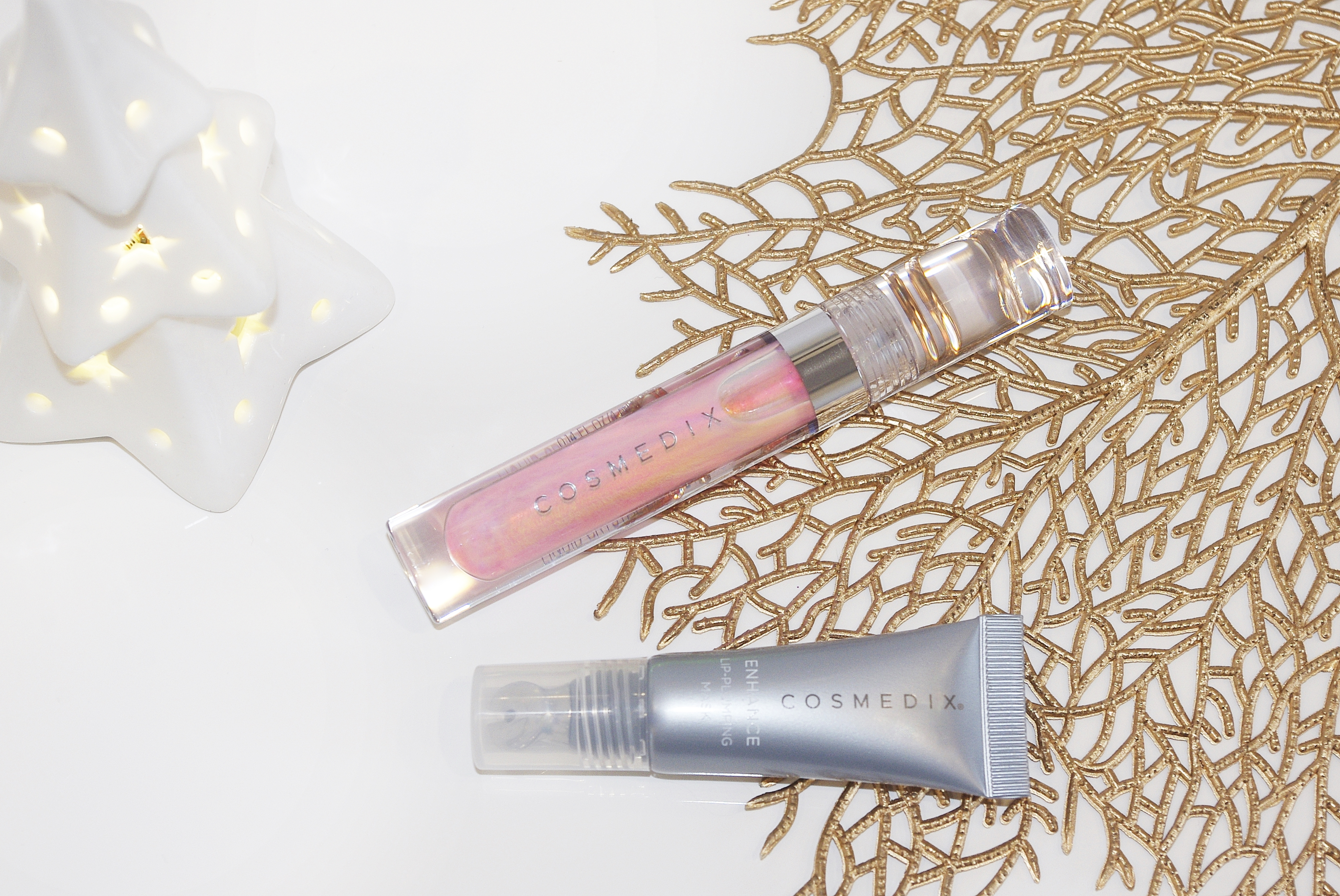 cosmedix Enhance Lip-Plumping Mask Lumi Crystal Liquid Lip Hydrator