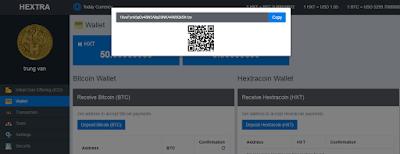 Dự án đầu tư HextraCoin lãi suất hấp dẫn