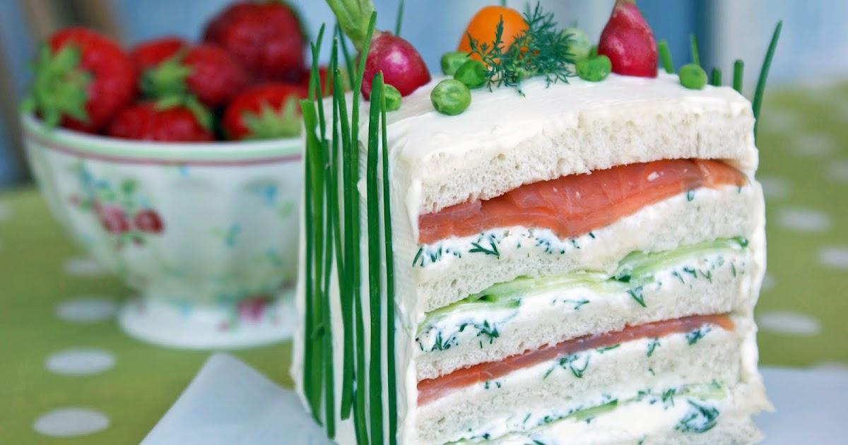 Cake Au Saumon Citron Et Aneth