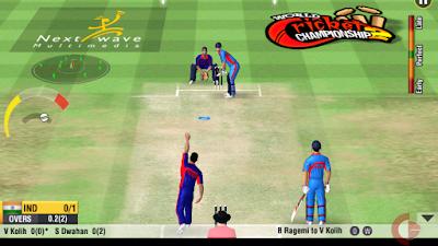 لعبة  World Cricket Championship 2 مهكرة للأندرويد، لعبة World Cricket Championship 2 كاملة للأندرويد