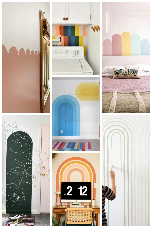 easy diy wall mural ideas