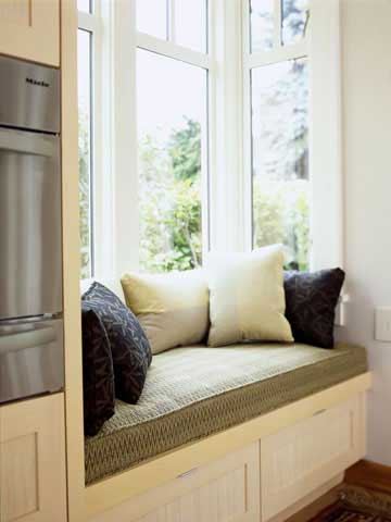 Modern Furniture: Window Seat design Ideas 2012
