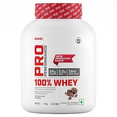 GNC Pro Performance 100% Whey Protein, 4.4 lb