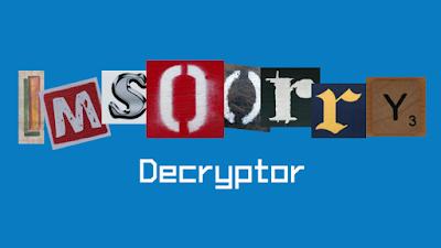 Οδηγίες για δωρεάν λύση του Ims00rry Ransomware