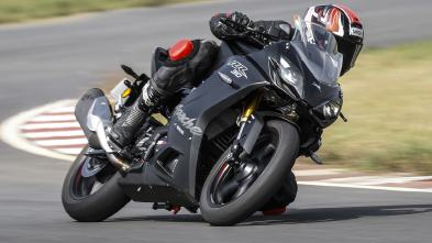 New 2018 TVS Apache RR 310 Test drive image
