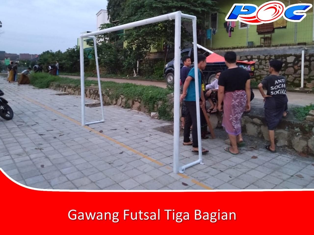 Gawang Futsal Tiga Bagian