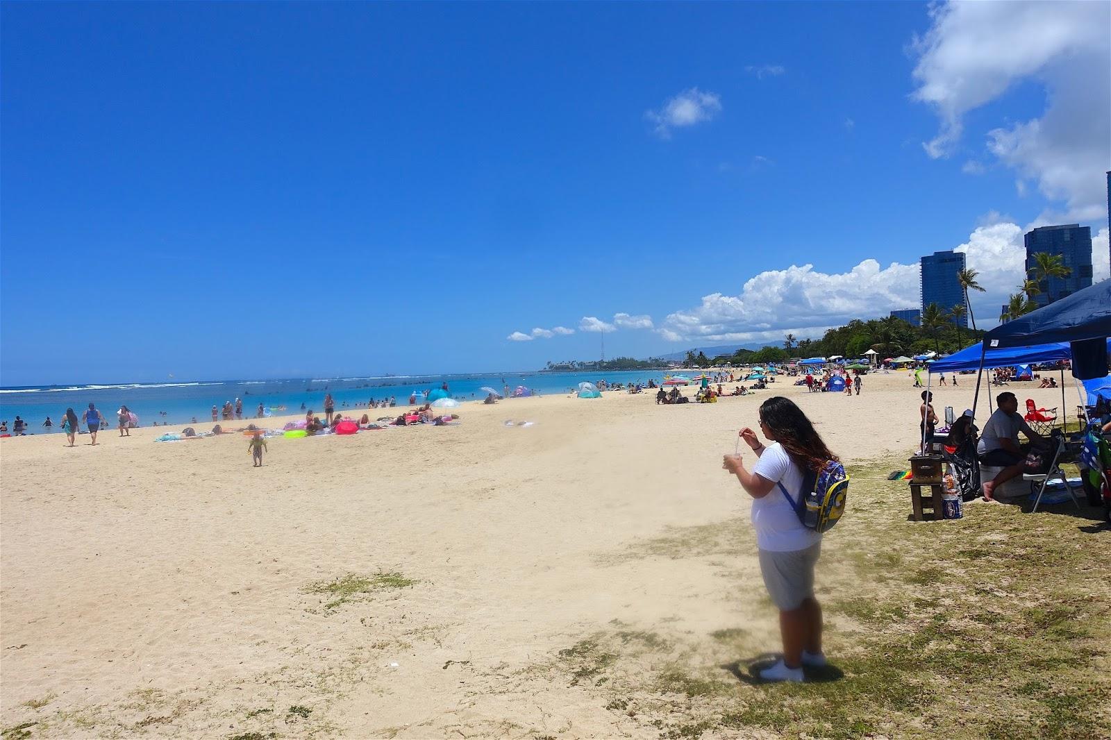 Ala Moana Beach Park World War