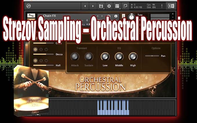 Orchestral Percussion X3M BY Strezov Sampling - (KONTAKT)
