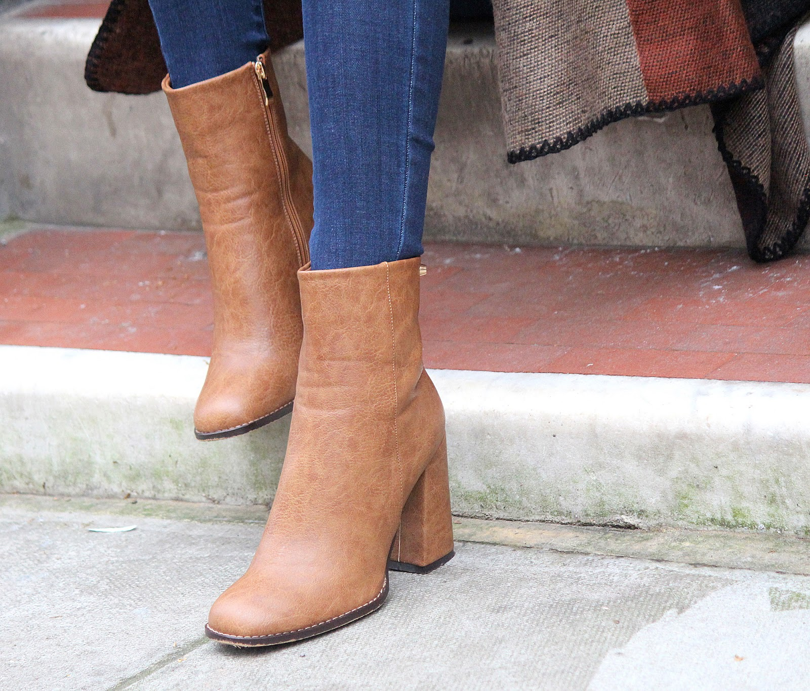 asos brown ankle boots