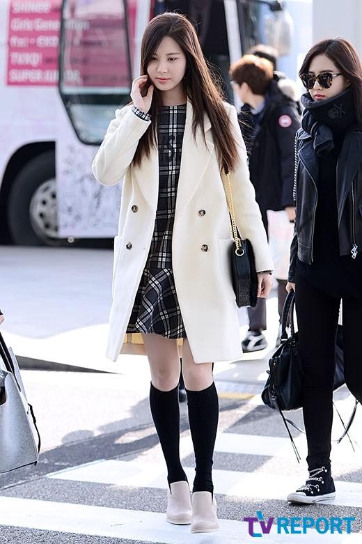 SNSD Seohyun Airport Fashion | Official Korean Fashion