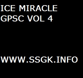 ICE MIRACLE GPSC VOL 4