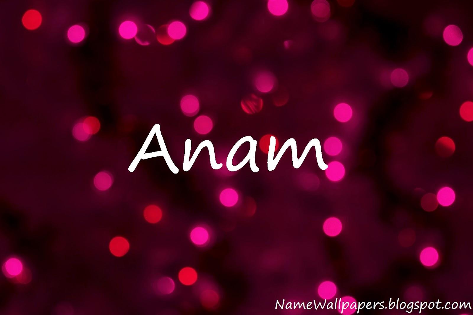 Anam Name Wallpapers A...K M Name Wallpaper