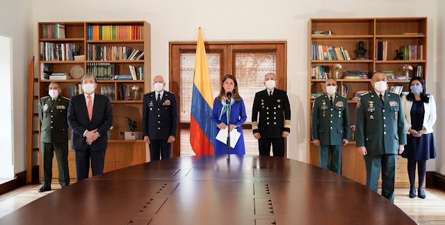Rechazan en Colombia propuesta de la vicepresidenta a las FFMM